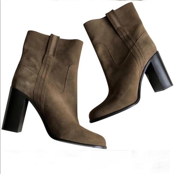 "ed778f5fcbd5 NWT Kate Spade Vero Cuoio ""Baise"" Suede Boots"